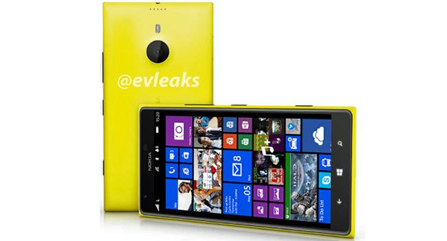 Nokia подготовила смартфон Lumia 1520 с 6-дюймовым дисплеем