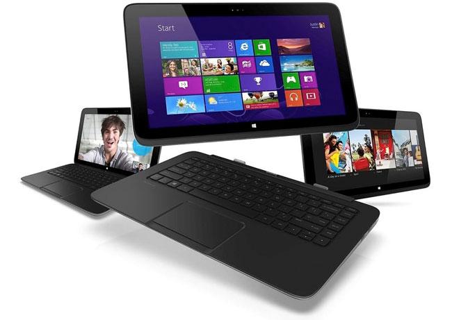 HP анонсировала ультрабук и гибридные мобильные устройства