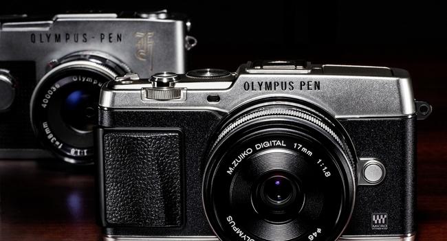 Olympus начинает продажи беззеркальной камеры E-P5 на украинском рынке