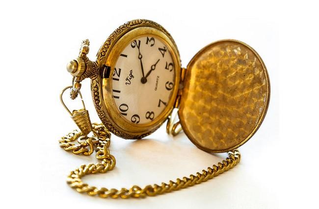 Карманные часы на цепочке – исторический первый тип носимых часов