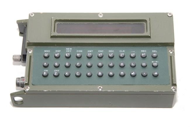 Военная шифровальная машина Nokia Sanomalaite (1970-1980 года)