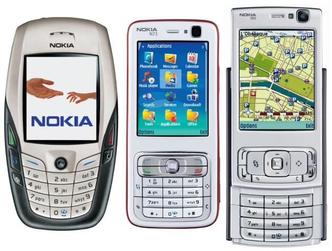 Знаковые модели Nokia 7110, 9210 и 7650
