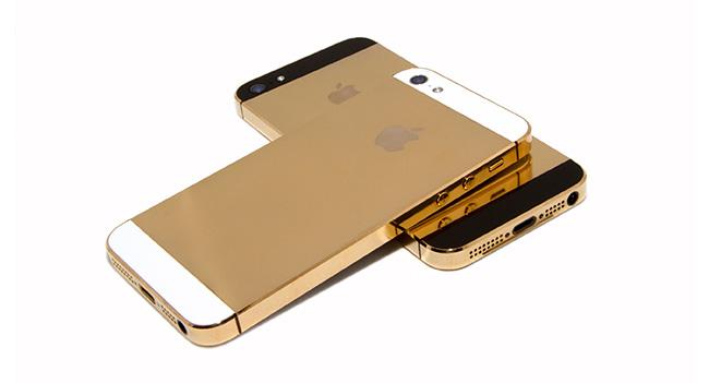 Apple запросила увеличение объемов производства смартфонов iPhone 5S в золотистом корпусе