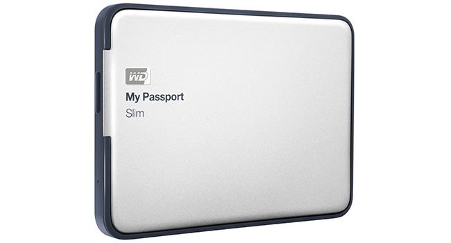 Western Digital выпустила портативные накопители My Passport Slim емкостью 1 и 2 ТБ
