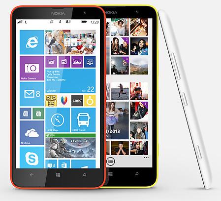 Nokia представила смартфон Lumia 1320 с 6-дюймовым HD дисплеем
