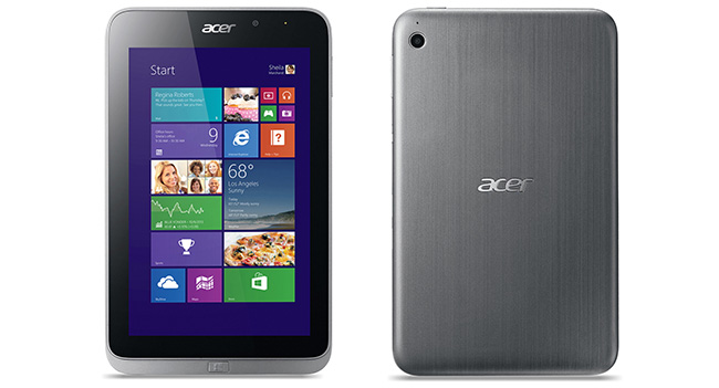 Acer выпустила планшет Iconia W4 с 8-дюймовым IPS дисплеем и Windows 8.1