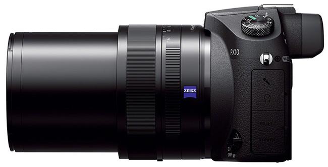 Sony Cyber-shot RX10 - камера с 1-дюймовым сенсором и светосильным объективом
