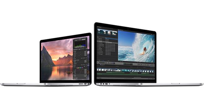 Apple представила ноутбуки MacBook Pro с Retina дисплеем