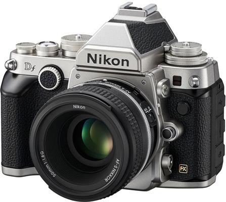 Nikon анонсировала полнокадровую камеру Df в ретро стиле