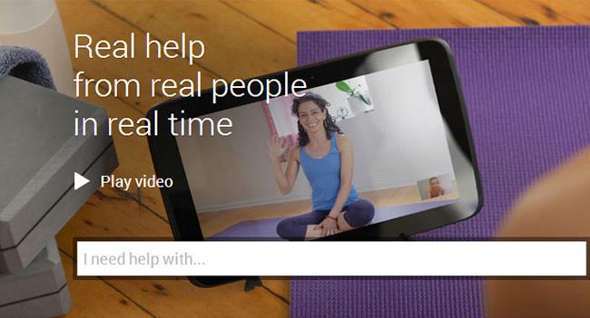 Google запустила сервис видео-консультаций Helpouts