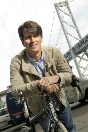 John Hanke photo with bike