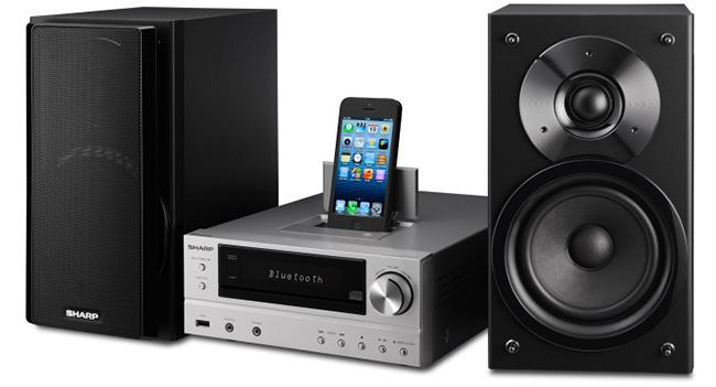 Sharp представляет в Украине микро-Hi-Fi системы XL-HF202 и XL-HF302
