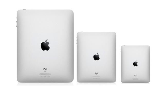 Apple выпустит планшет iPad с 12,9-дюймовым дисплеем Retina