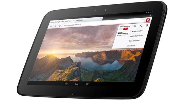 Выпущен браузер Opera 18 для Android