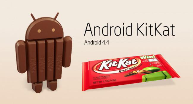 За месяц доля Android 4.4 KitKat достигла 1,1%