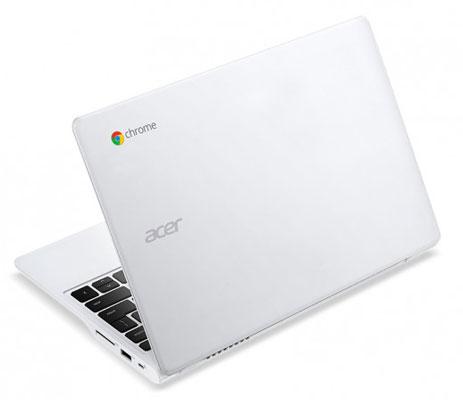Acer выпустила ноутбук Chromebook C720P-2600