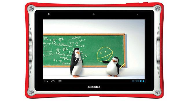 DreamWorks выпустит собственный планшет DreamTab, предназначенный для детей