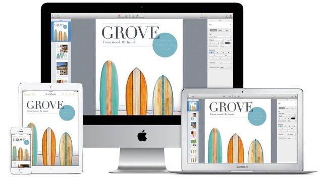 Apple обновила пакет iWork для Mac, iOS и iCloud