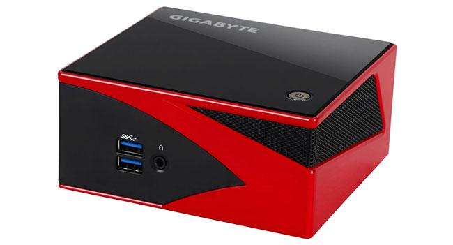 Gigabyte подготовила к выпуску компактный игровой компьютер-barebone Brix Gaming