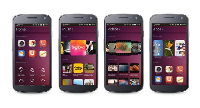 Цена смартфонов с ОС Ubuntu Touch будет в пределах $200-$400