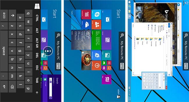 Приложение Remote Desktop позволяет управлять компьютером со смартфона Windows Phone