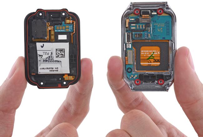 iFixit: Умные часы Samsung Gear 2 достаточно легко поддаются ремонту