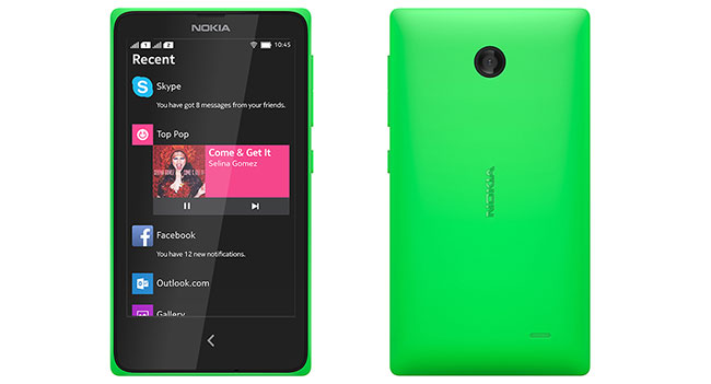 Android-смартфон Nokia X поступил в продажу в Украине