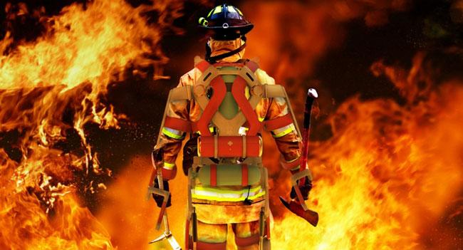 Разработан экзоскелет, призванный помочь пожарным