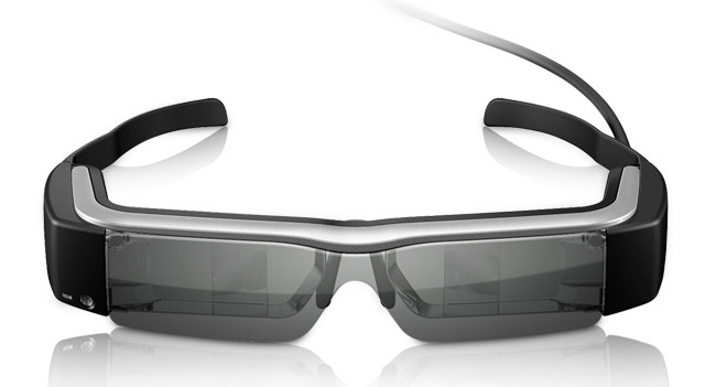 Epson выпустила умные очки Moverio BT-200