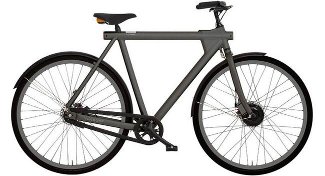 Vanmoof анонсировала электрический велосипед Electrified