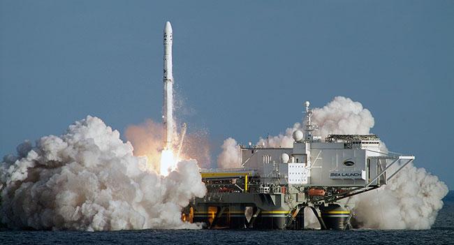 Украинско-российская ракета успешно вывела на орбиту спутник в рамках проекта «Морской старт»