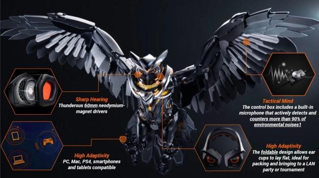 Strix-Pro-gaming-headset-owl