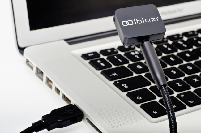USB charger with the iblazr