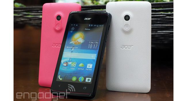 Acer Liquid Z200 - Android-смартфон по цене €79