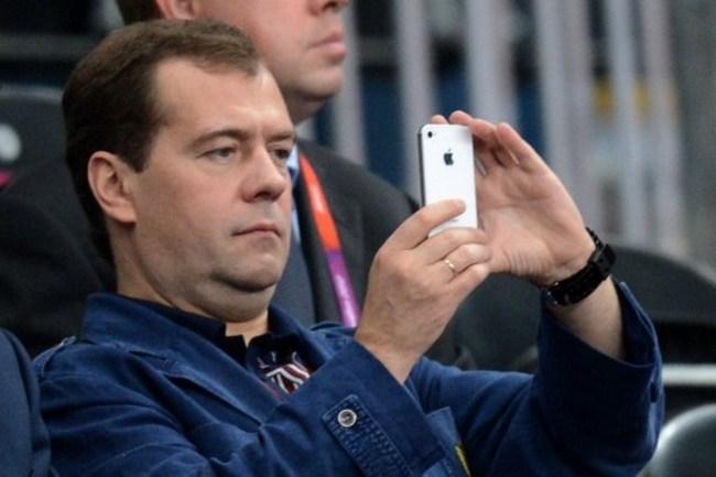 Medvedev iPhone