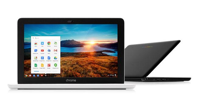 В прошлом квартале школы закупили 1 млн устройств Chromebook