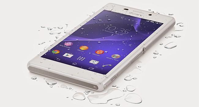 Sony выпустила водонепроницаемую модификацию смартфона Xperia M2
