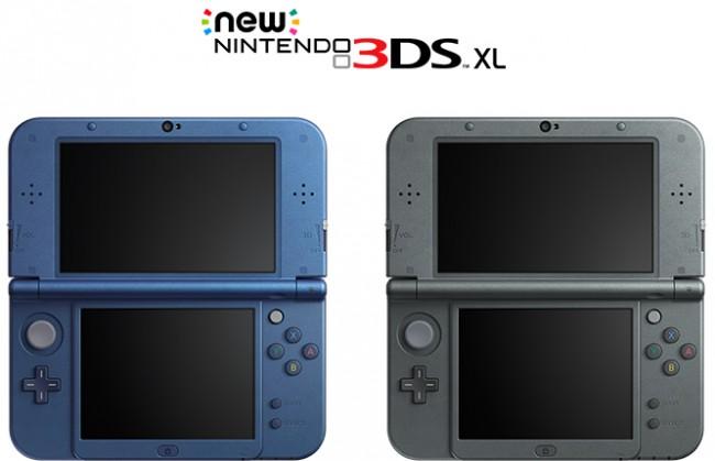 Nintendo анонсировала выпуск обновленных портативных консолей 3DS и 3DS XL
