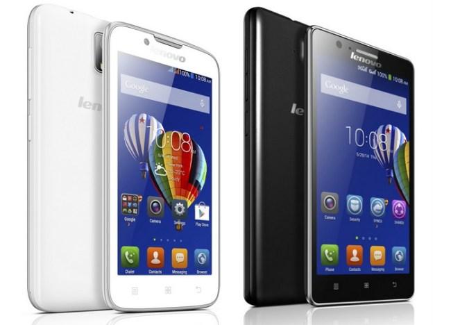 Смартфон Lenovo_A328_white