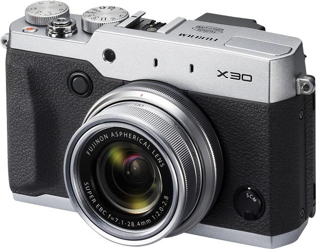 Fujifilm выпустила компактную камеру X30 для энтузиастов