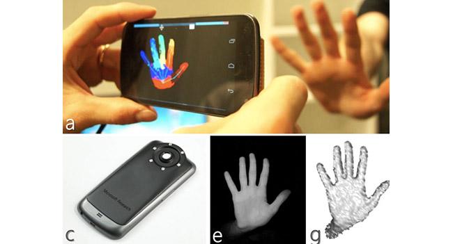 Новая разработка Microsoft позволяет трансформировать камеру смартфона в Kinect