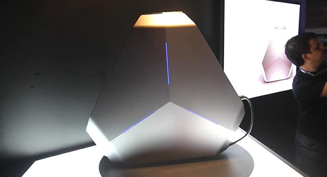 Alienware анонсировала игровой компьютер Area-51 в оригинальном корпусе