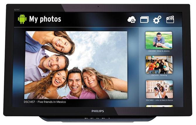 К выставке IFA 2014 компания Philips подготовила несколько новинок, при разработке которых особое внимание уделялось минимизации вреда здоровью пользователей. Для зрения людей, целый день проводящих с цифровыми устройствами, продолжительное излучение экрана в синем спектре несет серьезные риски. Новый монитор Philips SoftBlue снижает утомляемость глаз путём устранения излучения в синем спектре на волнах опасной длины. Это смягчает негативное влияние на глаза и улучшает самочувствие пользователя. Монитор SoftBlue использует новую технологию, снижающую пиковые значения излучения синего кристалла светодиода без какого-либо ущерба точности цветопередачи или яркости. На выставке IFA 2014 также будут представлены новые модели линейки мониторов с разрешением 4K увеличенных размеров. В дополнение к 28-дюймовой версии UltraHD монитора будут показаны устройства с диагоналями 32 и 40 дюймов. Для нужд геймеров предлагается 27-дюймовый игровой монитор 272G5DYEB с поддержкой технологии NVIDIA G-SYNC и частотой обновления 144 Гц. Он обеспечивает более плавное отображение деталей в динамических сценах. В то же время для пользователей, профессионально работающих с графикой и мультимедийным контентом, предназначен новый 27-дюймовый монитор Philips 272P4A. Он обладает разрешением изображения Quad HD (2560x1440 точек) и способен воспроизводить широкую цветовую гамму пространства Adobe RGB. Кроме того, Philips подготовила к выпуску оригинальный 27-дюймовый монитор 275C5. Он выполнен в глянцево-белом дизайне Moda 2. Этот монитор имеет встроенный модуль Bluetooth для организации беспроводного рабочего пространства, а также поддерживает стандарт беспроводной передачи мультимедийного сигнала Miracast. Два встроенных динамика мощностью по 7 Вт позволяют использовать эту модель в качестве развлекательного центра в гостиной. При этом можно обойтись без прокладки проводом от источника сигнала (например, смартфона, планшета или ноутбука) к монитору. На выставке будут демонстрироваться и сенсорны