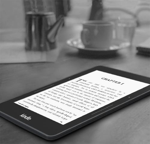 Kindle и Kindle Voyage - новые ридеры от Amazon