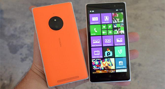 Microsoft выпустила смартфон Lumia 830 с камерой PureView