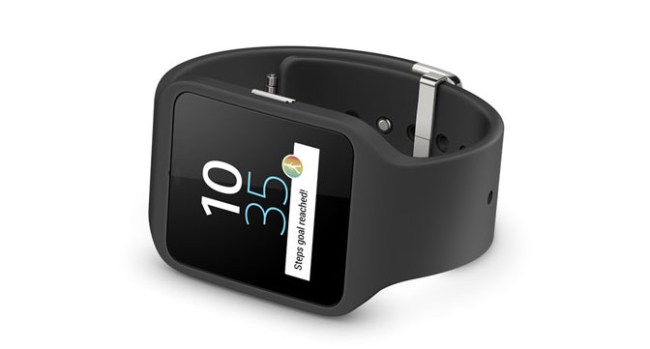 Sony анонсировала умные часы SmartWatch 3 на базе Android Wear