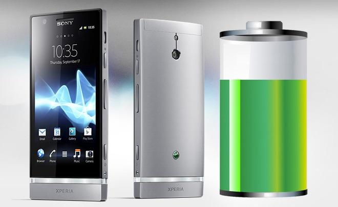 sony battery life