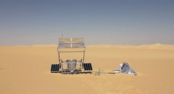 Исследователи смогли осуществить 3D-печать с использованием песка и солнечного света