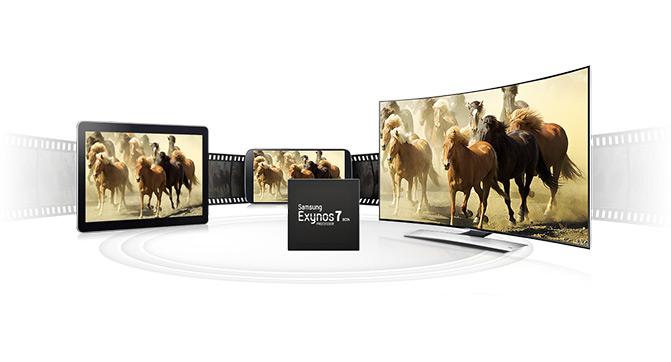 Samsung анонсировала мобильный процессор Exynos 7 Octa
