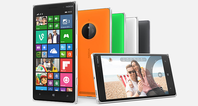 В Украине начинаются продажи смартфонов Lumia 830 и Lumia 730
